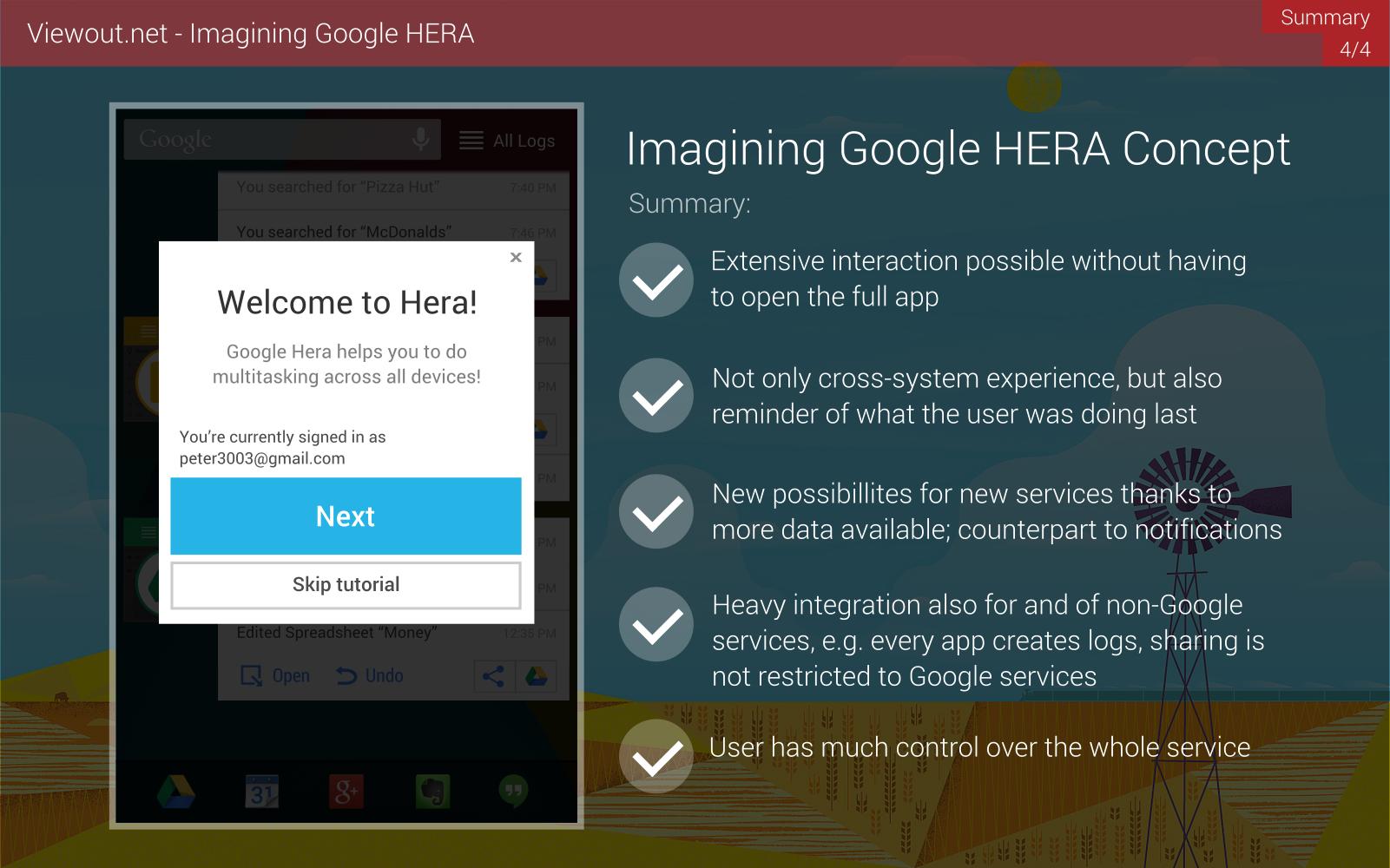 Google Hera concept