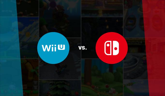 Timeline Comparison Of Wii U Vs Nintendo Switch Game